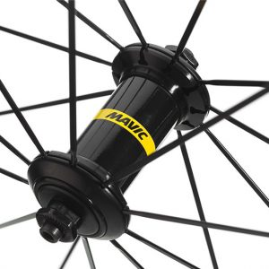 توپی طوقه کامل دوچرخه با لاستیک،مویک Aksium S