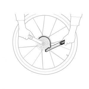 آچار چرخ دنده دوچرخه برند تاپیک