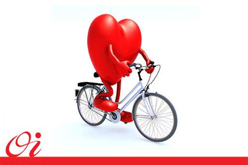 بهبود عملکرد قلب و دستگاه تنفسی با دوچرخه سواری