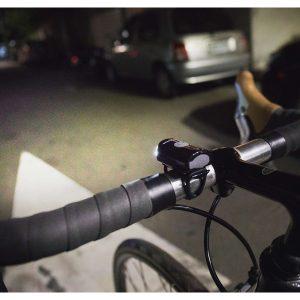 چراغ جلو دوچرخه برند تاپیک رنگ مشکی