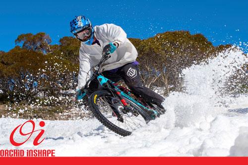دوچرخه سواری در فصل سرما
