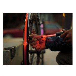 تلمبه چراغ دار دستی دوچرخه برند تاپیک
